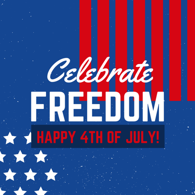 Fourth of July Social Media Graphic